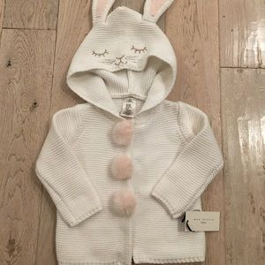 Knit jacket for baby girl 12M